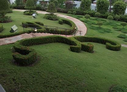 Ландшафтний дизайн газону