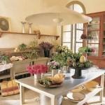 Прикрашаємо кухню квітами