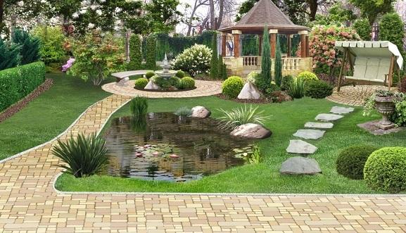 Ландшафтний дизайн садової ділянки